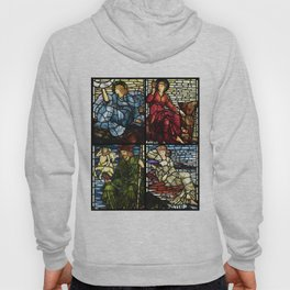 """Edward Burne-Jones """"Stained glass collection"""" Hoody"""