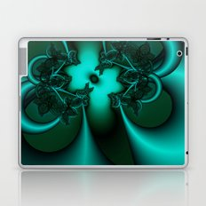 Teal Fantasy Laptop & iPad Skin