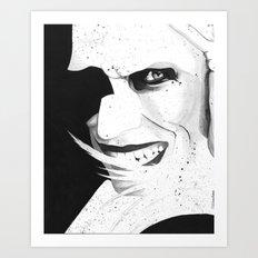 Take me to the Morgue Art Print
