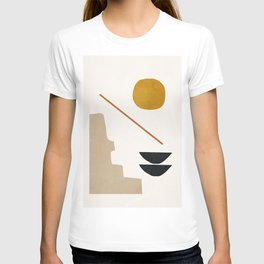 abstract minimal 6 T-shirt
