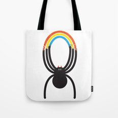 Spiders Are Rainbows Tote Bag