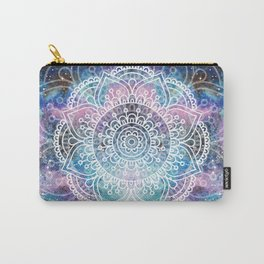 Mandala Dream | Watercolor Galaxy Painting Carry-All Pouch