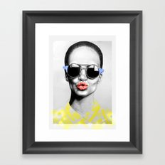 + SMOKE AND MIRRORS PRIMARY + Framed Art Print