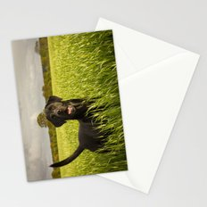 Labrador in the Spring Barley Stationery Cards