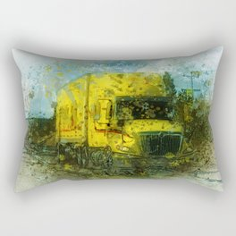 The Delivery  - Freight Truck Rectangular Pillow