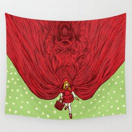 Going to Grandmother's House Wall Tapestry