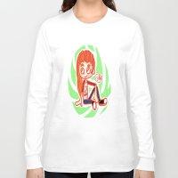 sport Long Sleeve T-shirts featuring Sport Girl by Glopesfirestar