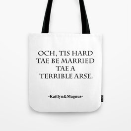 Terrible Arse Tote Bag