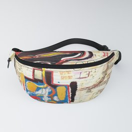 Basquiat Untitled 3 Fanny Pack