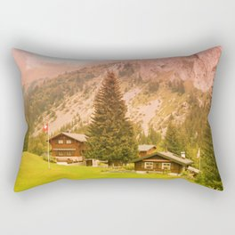 Mountain's Beauty And Nature's Magic Rectangular Pillow