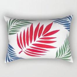 5 Paplm Leaves Rectangular Pillow