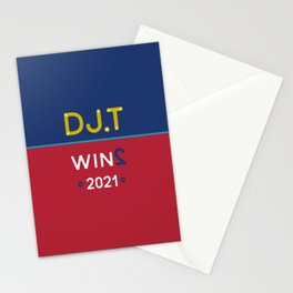 DJT WINS 2021 Stationery Cards
