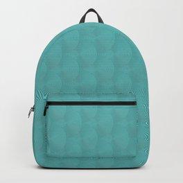 Blue art-deco vintage rings Backpack