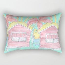 Beach Shack Vibes Rectangular Pillow