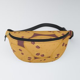 Chocolate chip cookie Fanny Pack