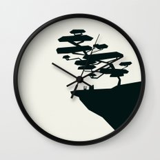 beauty trumped vertigo Wall Clock