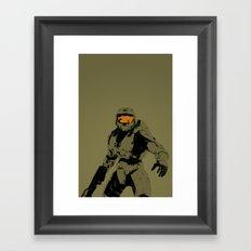 Master Chief Redux Framed Art Print
