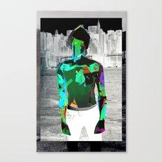 Urban Boy Canvas Print