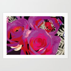 Flowers series_v02 Art Print