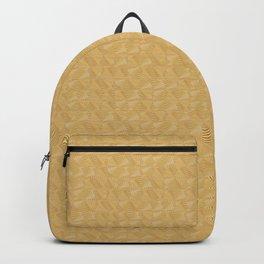 Gold art deco vintage rings Backpack