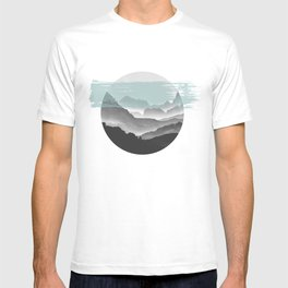 Mountain geometry T-shirt