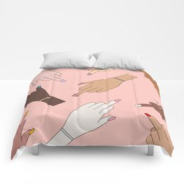 Worldwide Babes Comforters