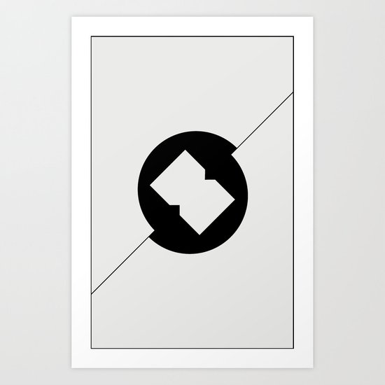 Break Spot Art Print