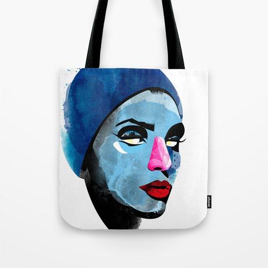 Woman's head Tote Bag