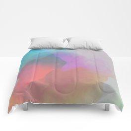 watercolor paint Comforters