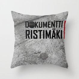 Dokumentti Ristimäki Throw Pillow