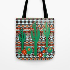 Southwest Cactus Tote Bag