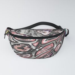 Couple Pink Romance Fanny Pack