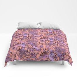 Sea Squad Red Comforters
