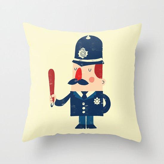 'Ello, 'ello, 'ello! Throw Pillow