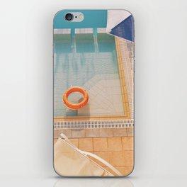 Swimming Pool iPhone Skin