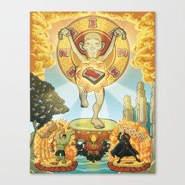 L'equilibrio divino Canvas Print