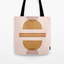 Amber Abstract Half Moon 2 Tote Bag
