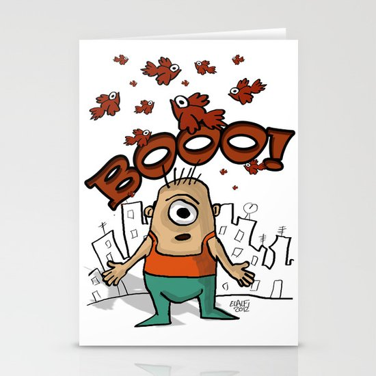BOOO! Stationery Cards