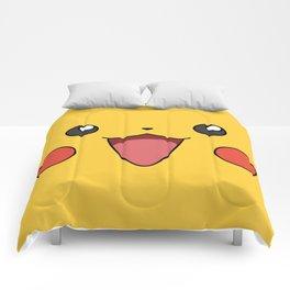 Pika Face Comforters