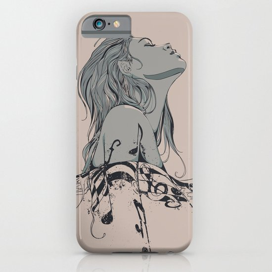 Floating in The Rhythm iPhone & iPod Case
