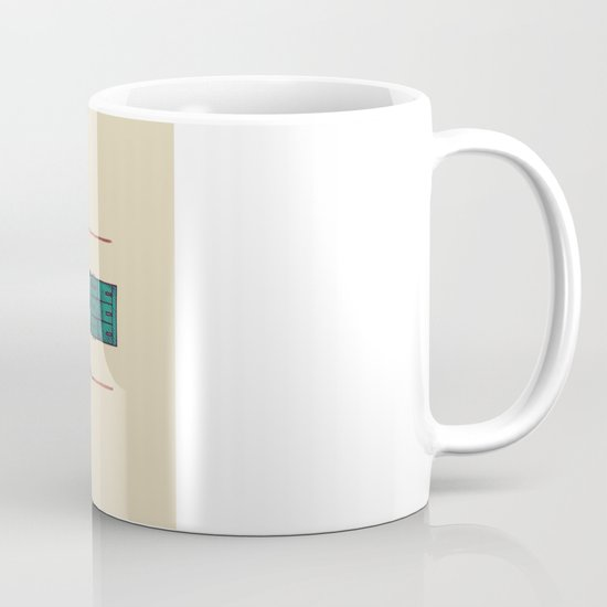 The Tower Azure Mug