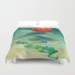 Reach the Sun! Duvet Cover