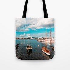Oslo Boats Tote Bag