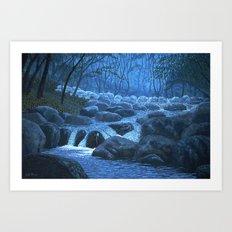 After Rainfall Art Print