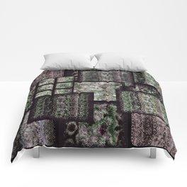 Bohemian Combo Boysenberry Comforters