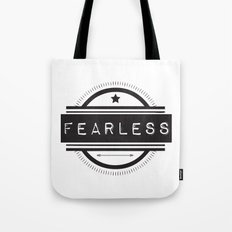 #Fearless Tote Bag