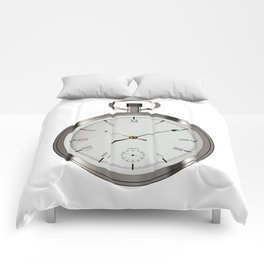 Silver Pocket Watch Comforters
