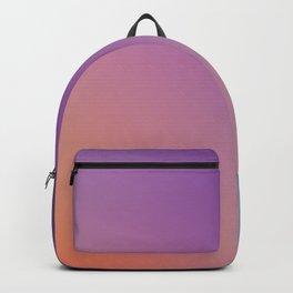 GUILTY  CONSCIENCE - Minimal Plain Soft Mood Color Blend Prints Backpack