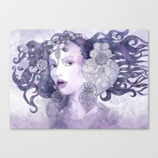 Filigran Canvas Print