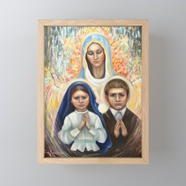 Fatima. Portugal Framed Mini Art Print